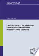 Identifikation von Regelbr  chen f  r neue Gesch  ftsmodelle im Bereich Preis Vertrieb