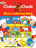 Color   Cook Story Coloring Book