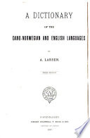 Dansk norsk engelsk ordbog