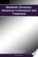 Metabolic Diseases Advances In Research And Treatment 2011 Edition