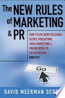 download ebook the new rules of marketing and pr pdf epub
