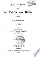 Trauer- und Lobrede auf die Todten von Wien, gehalten in St. Andrea della Valle zu Rom