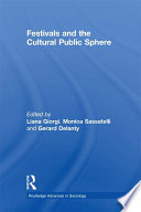 Festivals and the Cultural Public Sphere