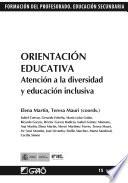 Orientación Educativa. Atención a la diversidad y educación inclusiva