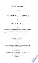 Physical ethnography of the African races  3d ed  1837