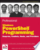 Professional Windows PowerShell Programming