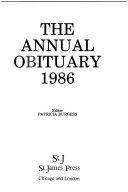 Annual Obituary  1986