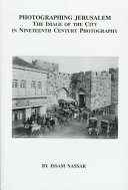 Photographing Jerusalem