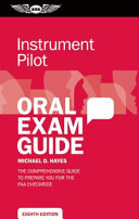 Instrument Pilot Oral Exam Guide
