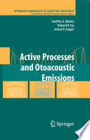 Active Processes and Otoacoustic Emissions in Hearing