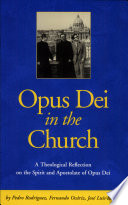 Opus Dei in the Church