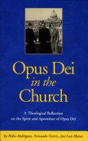 Opus Dei in the Church