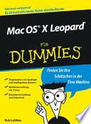 Mac OS X Leopard für Dummies