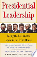 Presidential Leadership Prominent Institutions The Wall Street Journal