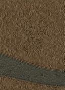 Treasury of Daily Prayer  Compact Edition Treasury of Daily Prayer  Compact Edition