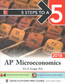5 Steps to a 5  AP Microeconomics  2018 Edition
