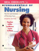 Skill Checklists for Fundamentals of Nursing