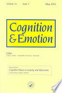 Cognitive Biases in Anxiety and Depression