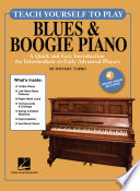Teach Yourself To Play Blues Boogie Piano
