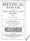 Mystical Bedlam Book PDF