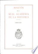 Boletin de la Real Academia de la Historia. TOMO CLXXX. NUMERO II. AÑO 1983
