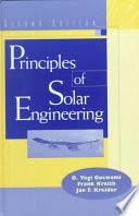 Principles of Solar Engineering, Second Edition