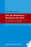 download ebook zeit der revolution! – revolution der zeit? pdf epub