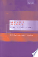 Aesthetic Concepts Contemporary Aesthetics That Arise From The Seminal Work