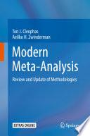 Modern Meta Analysis