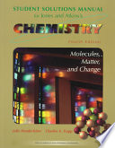 Solutions Manual for Chemistry  Molecules Matter and Change  Fourth Edition