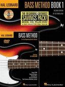 Hal Leonard Bass Method Beginner s Pack  The Beginning Bassist Savings Pack