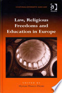 Law, Religious Freedoms and Education in Europe