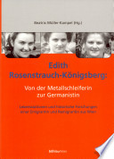 Edith Rosenstrauch-Königsberg