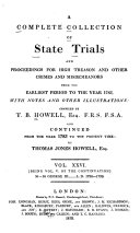 download ebook a complete collection of state trials and proceedings for high treason and other crimes and misdemeanors pdf epub
