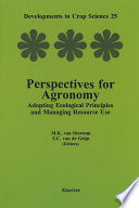 Perspectives For Agronomy book