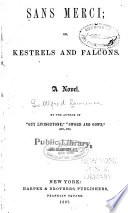 Sans Merci  Or  Kestrels and Falcons