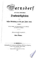Warnsdorf mit seinen historischen Denkwürdigkeiten von dessen Gründung an bis zum J. 1850