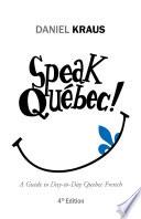 Speak Qu  bec