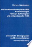 Vincenz Hundhausen (1878-1955)