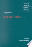 Augustine On The Trinity Books 8 15