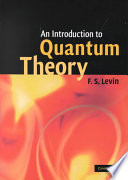 An Introduction To Quantum Theory book