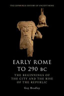 Early Rome to 290 B.c.