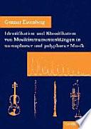Identifikation und Klassifikation von Musikinstrumentenkl  ngen in monophoner und polyphoner Musik