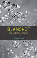 Blanchot and Literary Criticism