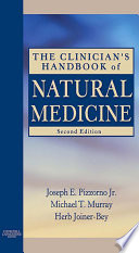 The Clinician S Handbook Of Natural Medicine E Book