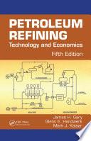 Petroleum Refining Order To Meet Ever Changing Environmental