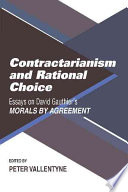 Contractarianism and Rational Choice