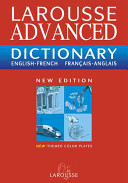 Larousse Chambers Dictionnaire Fran  ais anglais  English French