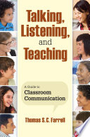 Talking  Listening  and Teaching
