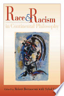 Race And Racism In Continental Philosophy book